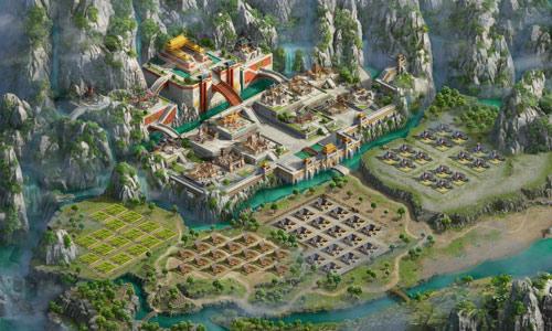 图3 听说《国战天下》的三国圣贤都这样治理内政?