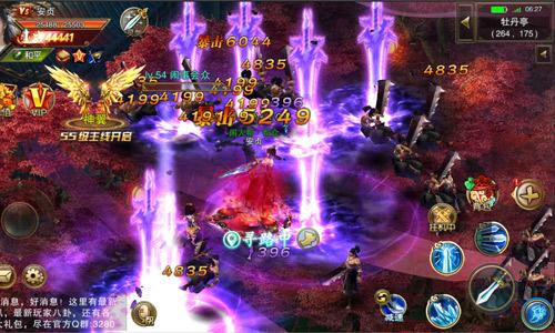 《天尊令》全屏技能秒杀 3D战斗画风超震撼!