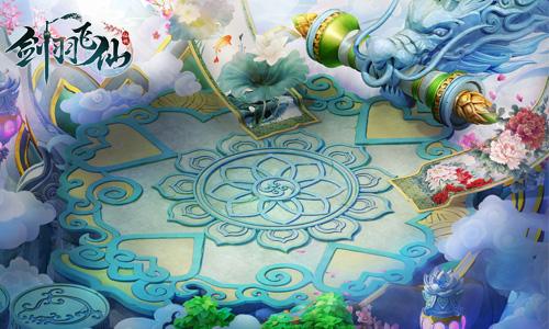 图3 领略三界极致风采 《剑羽飞仙》精美原画曝光!