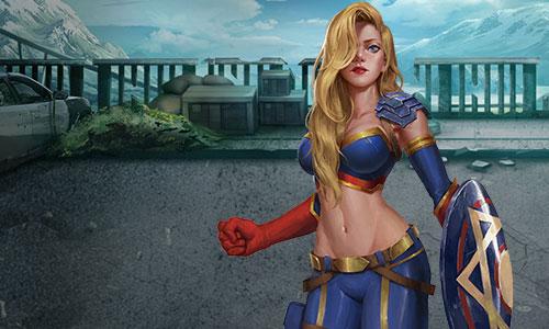 图2 《末日前线》这些颜值逆天的女英雄 你pick谁?